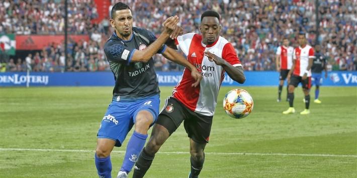 Haps en Van Beek maken rentree bij Jong Feyenoord