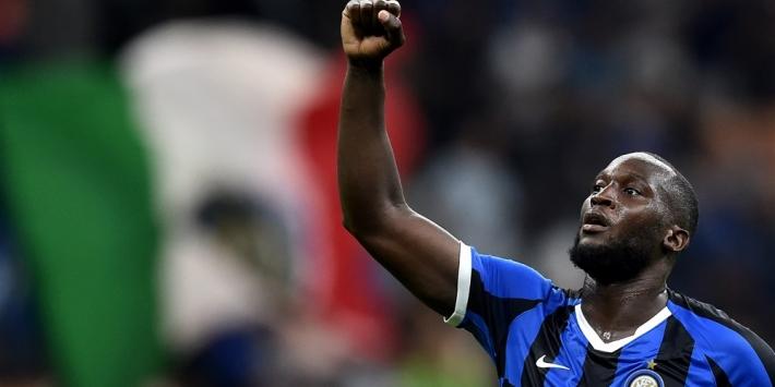 Curva Nord van Inter verdedigt Cagliairi en doet beroep op Lukaku