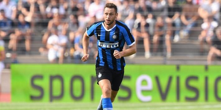 Inter in spoor van Juventus mede door assist van De Vrij
