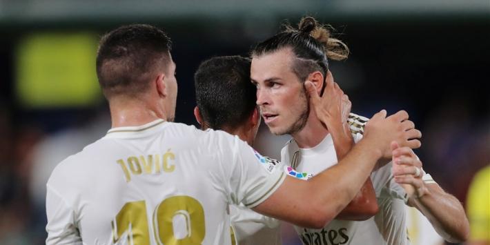 Real Madrid moeizaam langs Salamanca, PSG naar bekerfinale