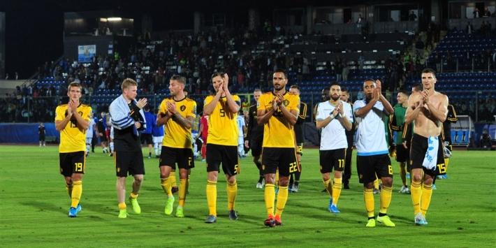 Geplaatst België blijft winnen en verslaat ook Kazachstan