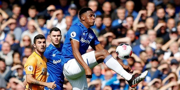 Everton bij PL-hervatting vermoedelijk zonder Yerry Mina