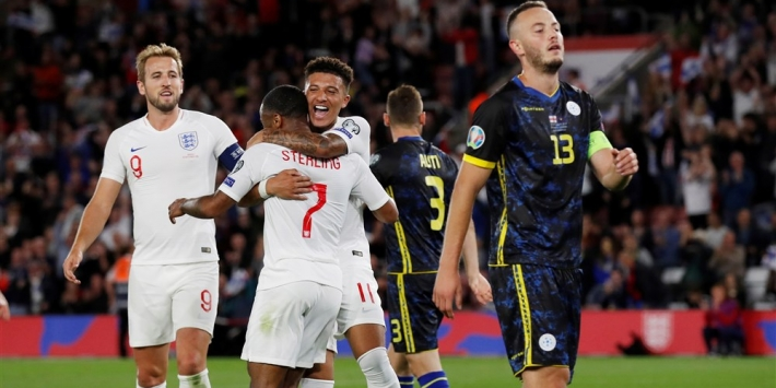 Dapper Kosovo laat Engeland eventjes zweten, winst Tsjechië