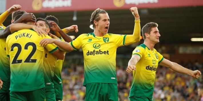 City loopt deuk op door pijnlijke nederlaag bij Norwich