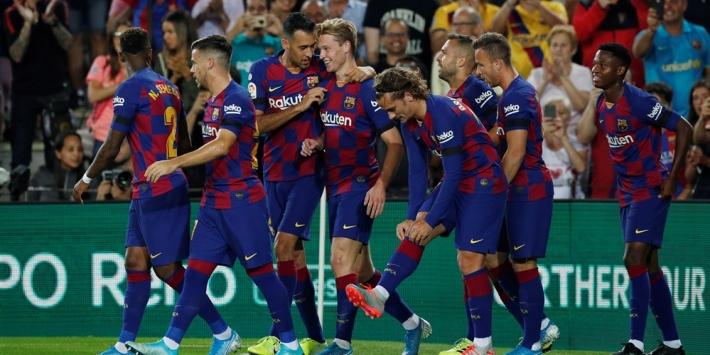 Defensieve problemen voor Barça na blessure Junior Firpo