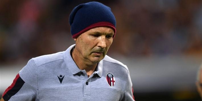Zieke Bologna-trainer Mihajlovic inspireert zijn elftal bij comeback