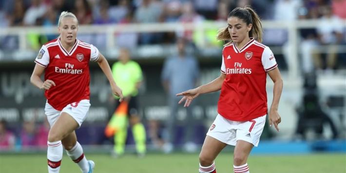 Van de Donk scoort twee keer en helpt Arsenal aan zege
