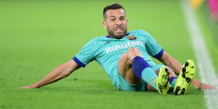 Alba houdt blessure over aan wedstrijd tegen Borussia Dortmund