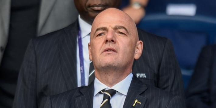 FIFA-voorzitter Infantino betuigt steun aan familie Ricksen