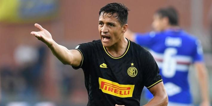 Inter vermoedelijk lang zonder Alexis, Ramsey afwezig bij Wales