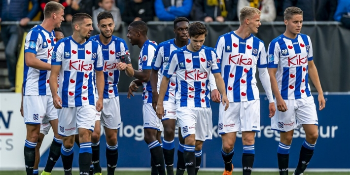 Dramatisch begin kost VVV-Venlo de kop tegen SC Heerenveen