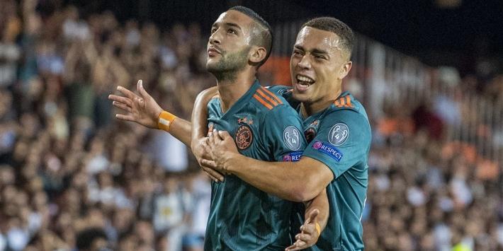 Ziyech laat interlands schieten en meldt zich bij Ajax