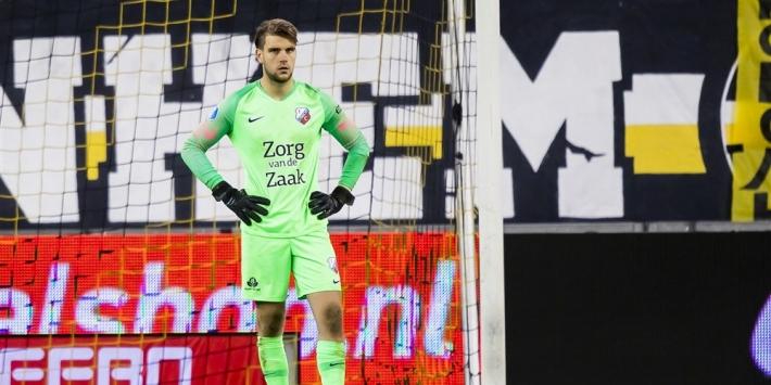 FC Utrecht bindt eerste keeper Paes tot en met 2023