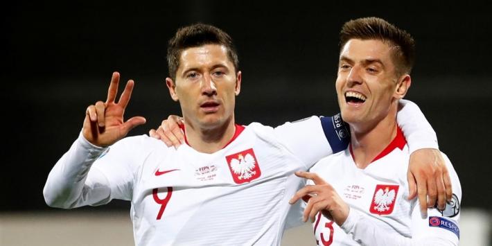 Polen naar EK, Oostenrijk doet hele goede zaken in Slovenië