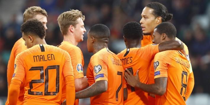 Oranje op rapport: Wijnaldum vervangt Memphis, 4 onvoldoendes