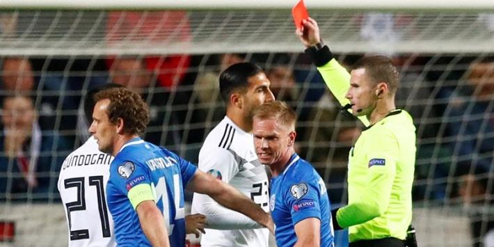 Duitsland ondanks razendsnel rood simpel langs Estland
