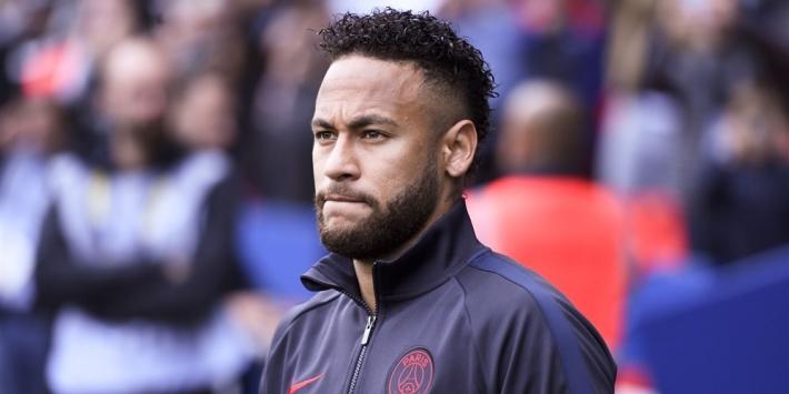 Domper voor PSG: Neymar vier weken uit de roulatie