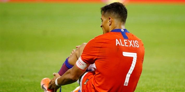 Opgeleefde Sánchez dit kalenderjaar niet meer in actie voor Inter