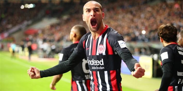 Dost sneller dan verwacht terug bij Eintracht Frankfurt
