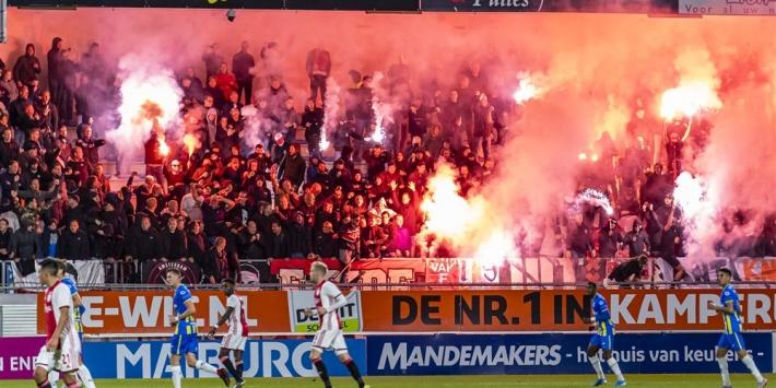 RKC Waalwijk gaat stadion-schade verhalen op Ajax