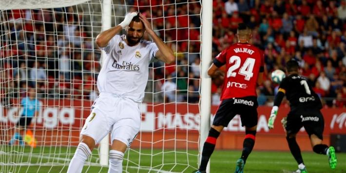 Ondermaats Real Madrid lijdt eerste competitienederlaag