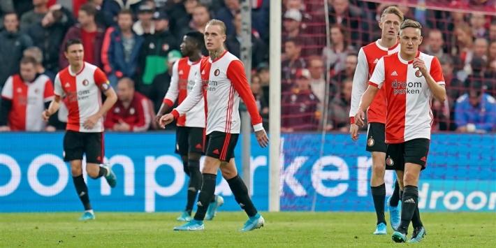 Matig Feyenoord blameert zich ook tegen Heracles Almelo