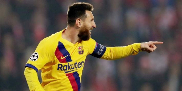 Messi eerste speler die vijftien CL-seizoenen op rij scoort