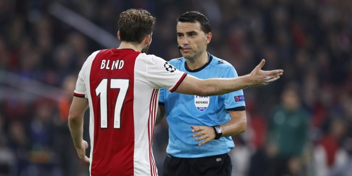 """Blind merkte veel kritische Ajax-fans: """"Misschien te veel verwend"""""""