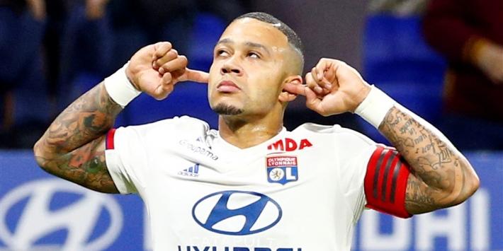 Memphis ziet aanvoerderschap bij Olympique Lyon wel zitten