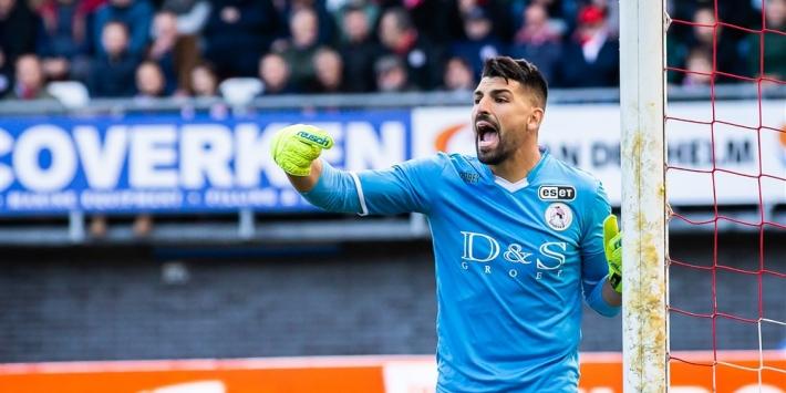 SC Heerenveen versterkt zich met ex-goalie Sparta