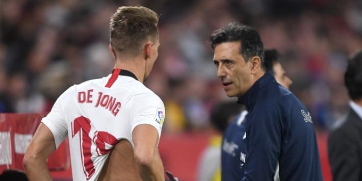 Spaanse media: Sevilla wil concurrent voor De Jong