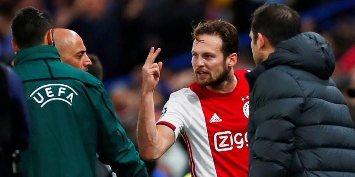 UEFA-regels: seponeren rode kaarten Ajax niet mogelijk