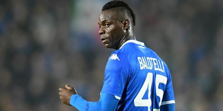 Brescia-fans steunen die van Hellas, niet beschimpte Balotelli
