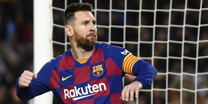 Onnavolgbare Messi helpt Barça aan koppositie La Liga