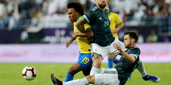 Messi bij rentree direct matchwinner tegen Brazilië