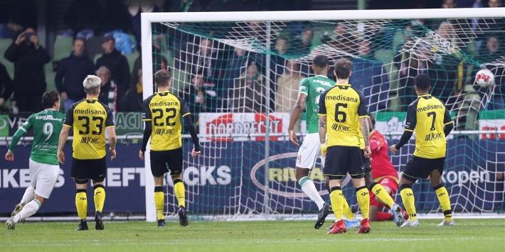 Eerste Divisie: Roda niet langs Dordrecht, weer zege Volendam