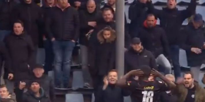 Video: Moreira haalt zijn gram op racistische FC Den Bosch-fans
