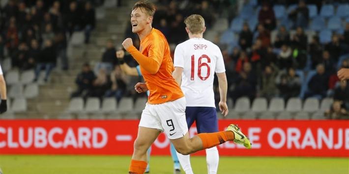 Jong Oranje verslaat Engeland dankzij mooie trap Dilrosun