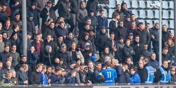 FC Den Bosch deelt stadionverboden uit, onderzoek ligt bij KNVB