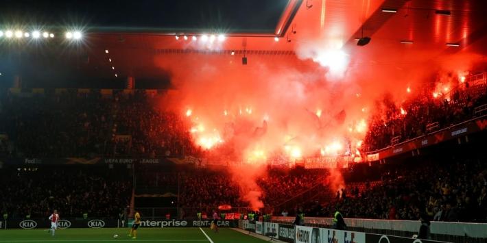 UEFA straft Feyenoord: geen supporters mee naar FC Porto
