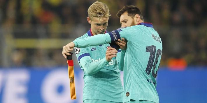 Spaanse media kritisch op De Jong na duel Barcelona
