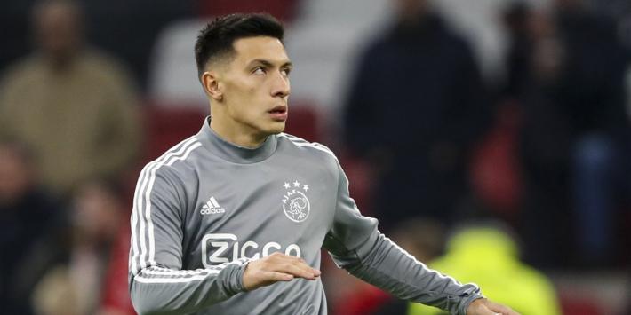 Ajax-verdediger Martínez alsnog opgeroepen voor Argentinië