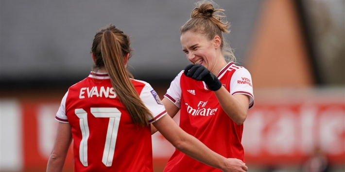 Miedema trots als all time topscorer van Women's Super League