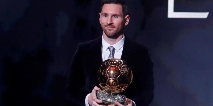 Messi wint zijn zesde Gouden Bal, Van Dijk eindigt tweede