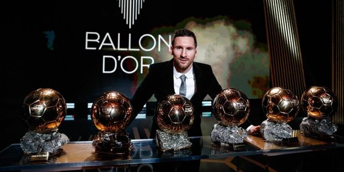 Officiële uitslag Ballon d'Or: Messi troeft Van Dijk nipt af