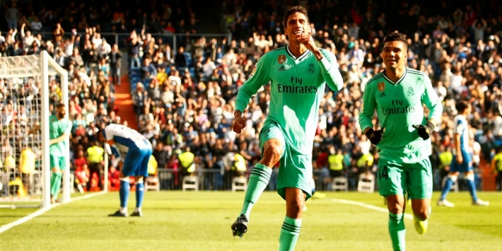Rode kaart Mendy smet op overwinning Real Madrid
