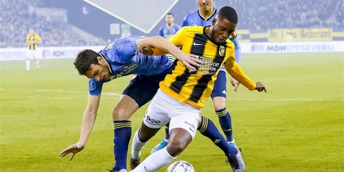 Vitesse en Feyenoord spelen doelpuntloos gelijk in pover duel