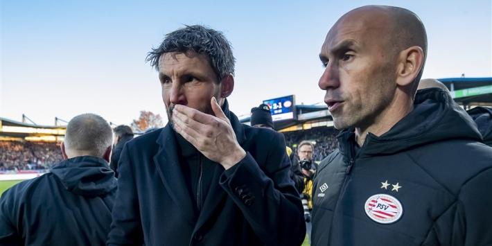 PSV zet trainer Van Bommel op straat na aanhoudende crisis
