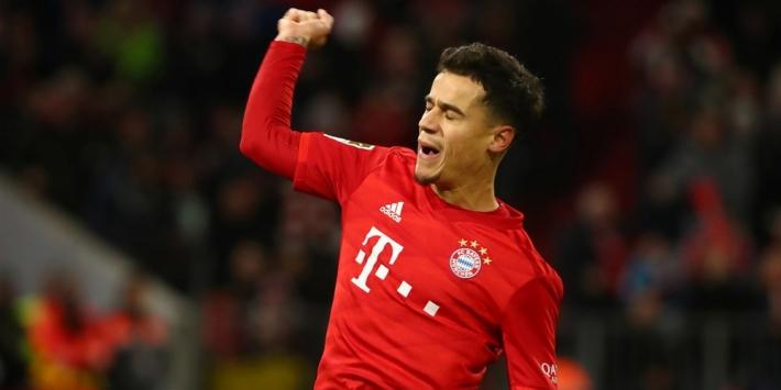 Coutinho heeft waarschijnlijk laatste duel voor Bayern al gespeeld