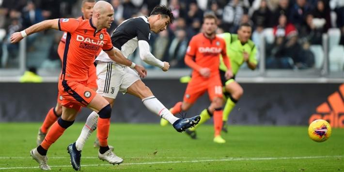 Juventus wint met De Ligt als invaller, verlies Atalanta